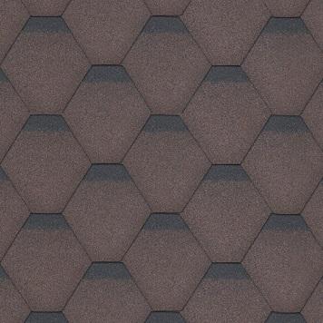 hexagonal-brown